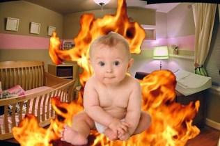 Burning-Baby
