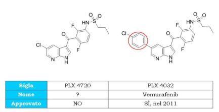 PLX4720 e Vemurafenib