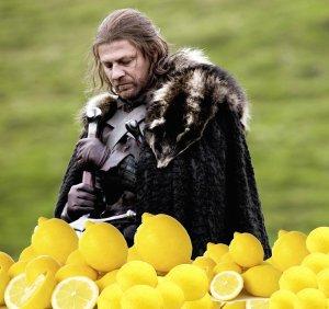 Ned Stark si prepara per l'inverno.